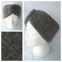 Stirnband - Größe S - grau