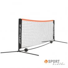 Dunlop Kleinfeldnetz 3m (Netz + Gestänge) rot/schwarz