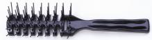 PROFILINE Ventbürste schwarz 7-reihig