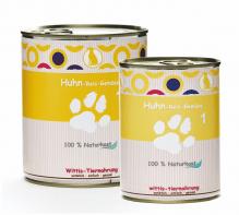 Dosenbarf - Fertignahrung für Hunde