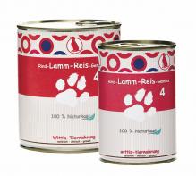 Hundefutter Wittis Dosenmenü Rind - Lamm - Reis - Gemüse