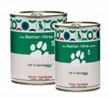 Hundefutter Wittis Dosenmenü Rind - Lamm - Gemüse - Reis
