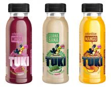 TUKI - Mora, Guanabana, Mango Pack 5x3 Flaschen à 250ml (15 Flaschen)