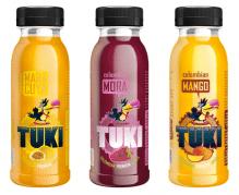 TUKI - Maracuya, Mora, Mango Pack 5x3 Flaschen à 250ml (15 Flaschen)