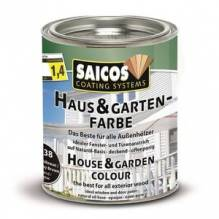 Haus & Garten-Farbe Mahagonibraun 0,75 l