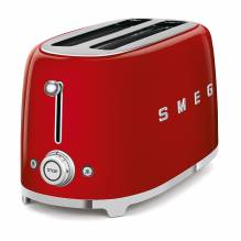 SMEG grille-pain 4 tranches TSF02RREU ROUGE