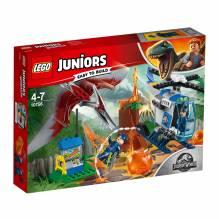 LEGO Juniors s'échappe du Pteranodon