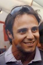 Foto A4 signiert Felipe Massa