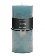 Kerze Zylinder Azur 15 cm - 72H