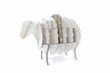 CocoriSheep L white - cardboard shelf