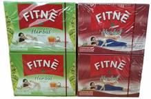 Fitne 2 Boxen Kräuter und Grüner Tee + 2 Boxen Kräutertee