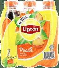 LIPTON ICE TEA PECHE PET 6x50cl