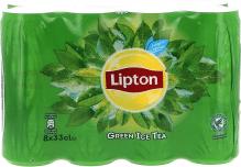 LIPTON GREEN TEA CANS 8x33cl