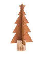 Rostiger Metall-Weihnachtsbaum 38 cm