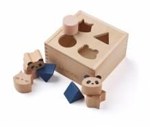 Holzsteckpuzzle Sortier-, Stapel- & Steckspielzeug Liewood