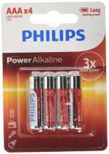 Philips 87 12581 54982 4 Powerlife im Karton von 48 Batterien