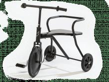 Tricycle vintage noir pour enfants de 1,5 ans et plus