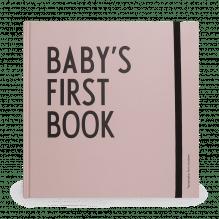 Baby-Erinnerungsbuch mit Meilenstein-Karten – Rosa