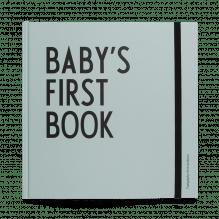Baby-Erinnerungsbuch mit Meilenstein-Karten – Blau