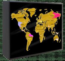 Light Up Scratch Map