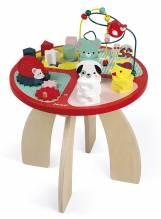 Janod  - Baby Wald Aktivitäts-Tabelle