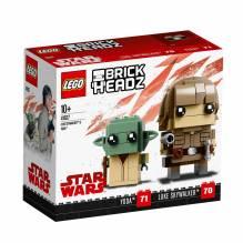 LEGO BrickHeadz Luke Skywalker™ und Yoda™