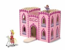 Fold & Go Holz Prinzessinen Schloss zum Mitnehmen
