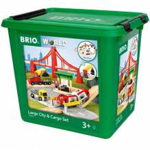 BRIO - Large City & Cargo Set