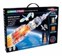 LASER PEGS - Mars-Rakete