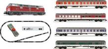N Fleischmann 931881 - z21® Start-Digitalset: Diesellok BR 221 mit Schnellzug 'DB' 1:160 für 230V