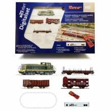 H0 Roco 51300 Digital Startpackung z21 'Französicher Güterzug mit Diesellok BB63000 SNCF' 1:87 für 230V
