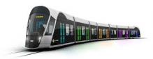 H0 LuxTram001 LuxTram 7 teiliger Tram aus Luxemburg '2017 Präsentationsmodell' 1:87 DCC Gleichtrom Digital mit Innenbeleutung