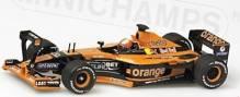 Orange Pfeile A22 E.Bernoldi GP Monaco 2001-Tests