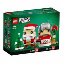 LEGO BrickHeadz Herr und Frau Weihnachtsmann