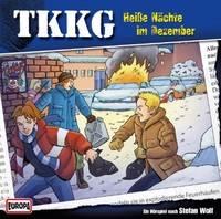 Wolf, Stefan: TKKG - Heiße Nächte im Dezember Hörspiel, CD, Ein Fall für TKKG 150