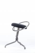 Ergonomischer dreidimensional beweglicher Büro Stuhl - fördert eine natürliche Körperhaltung - ActiveChair PRO Technetium