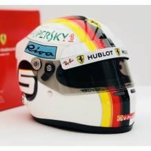 Mini-Helm 1/2 Sebastian Vettel 2018