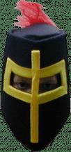 Ritter Helm mit Feder