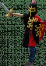 Chevalier au lion d'or
