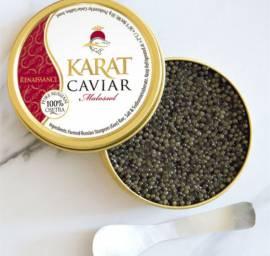 Delikatessen Präsentkörbe Frische(r) & tiefgefrorene(r) Fisch/Meeresfrüchte Karat Kaviar