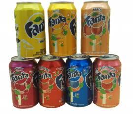 Soda Boissons Fanta