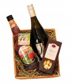 Geschenke & Anlässe Delikatessen Präsentkörbe Liköre Sekt Nüsse mit Schokoladenüberzug
