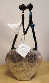 Valentinstag Schwangerschaft & Geburt Geburtstag Hochzeit Muttertag Vatertag Figuren zur Dekoration CASABLANCA