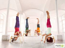 Yoga & Pilates Feet up