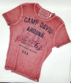 Rundhals-T-Shirts Camp David