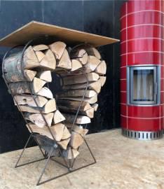 Feuerholz-Aufbewahrung