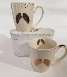 Kaffee- und Teetassen