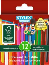 Zeichenbleistifte & Buntstifte Stylex
