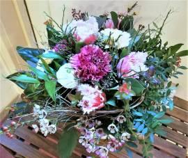 Blumen Tulpen, Nelken, Ranunkel