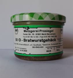 Fleisch- & Wurstwaren BIO Metzgerei Prosiegel